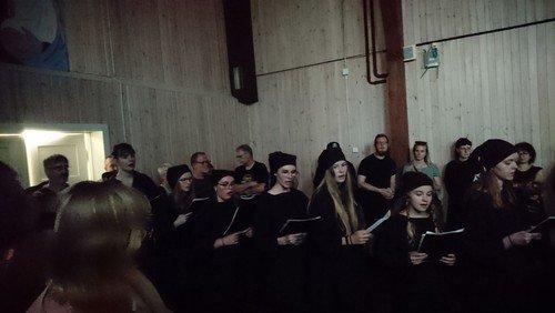 Middelalderfest: Cantica Peblinge koncert