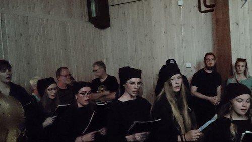 Middelalderfest: Cantica Peblinge