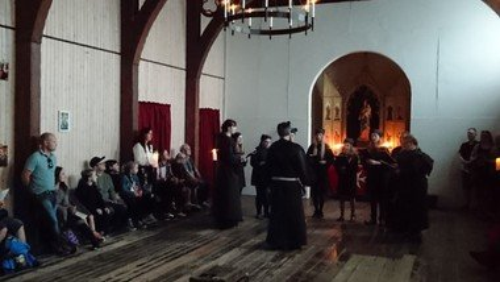 Middelalderfest: Gregoriansk aftensang