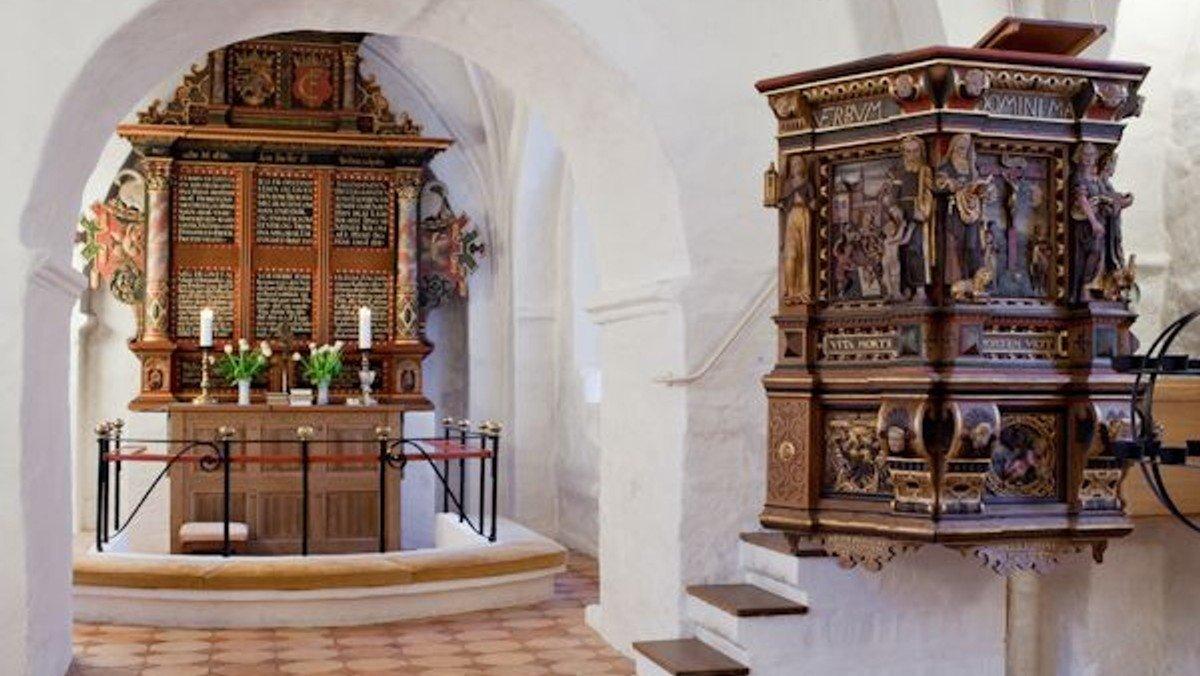 Fromesse i Toksværd Kirke