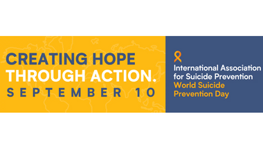 World Suicide Prevention Day service