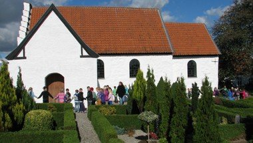 Gudstjeneste Vester Alling Kirke - 24. s. e. trinitatis