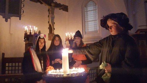 Halloween i Ny Vor Frue kirke