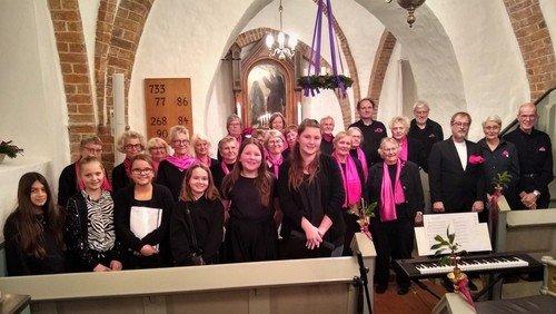 Korkoncert med Sorø Underholdningskor og kirkens juniorkor
