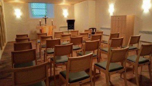 Einweihung der Michelner Winterkirche