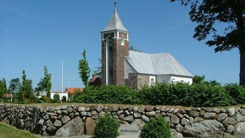 Kirkekoret medvirker i Resen Kirke