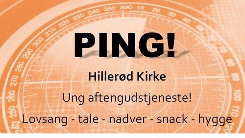 PING - ung aftengudstjeneste