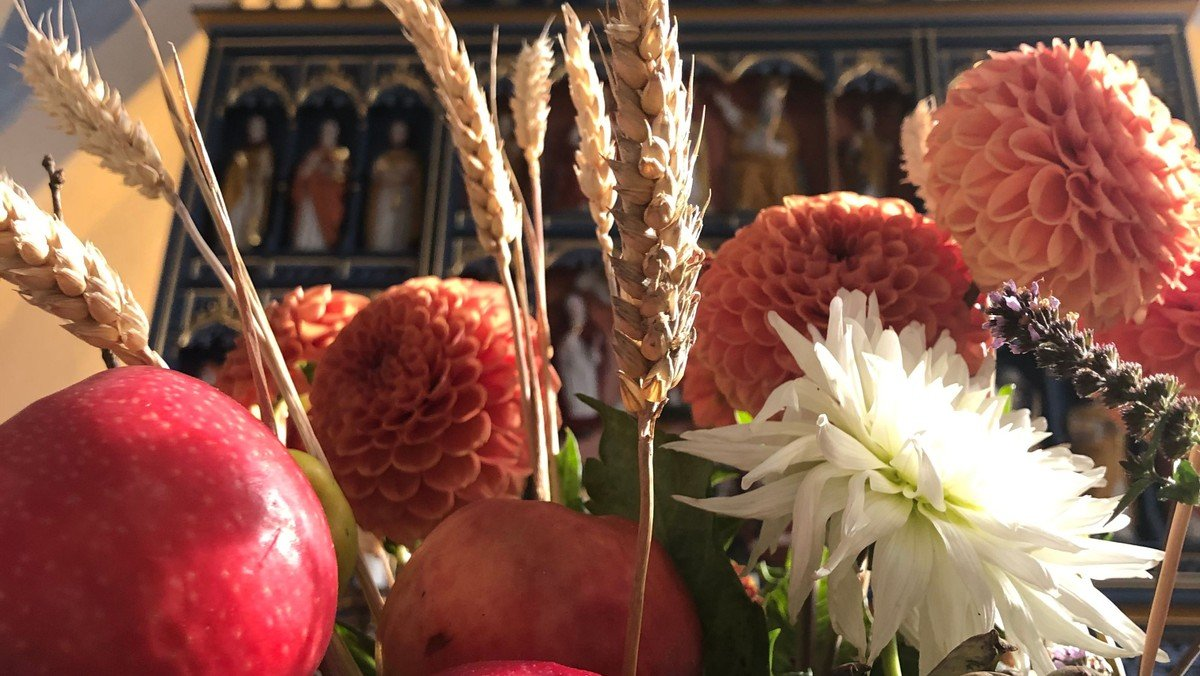Høstgudstjeneste i Tjæreby kirke