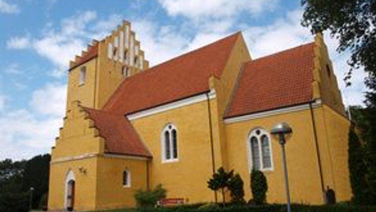 Begyndergudstjeneste i Tjæreby kirke