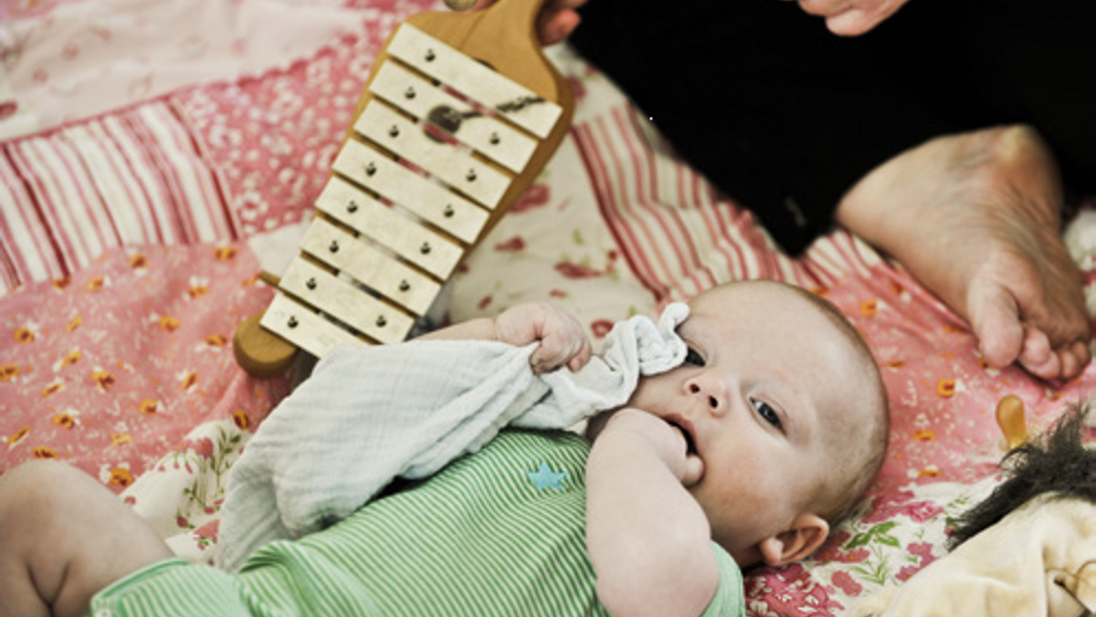 Babysalmesang 2-6 måneder (Efterårsferie i uge 42)