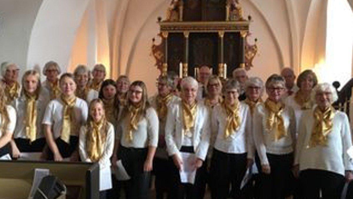 Kirkekorets øveaften