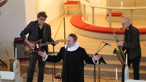 Aften Jazz gudstjeneste ved Rune Reimer Christensen og Jakob Høgsbro