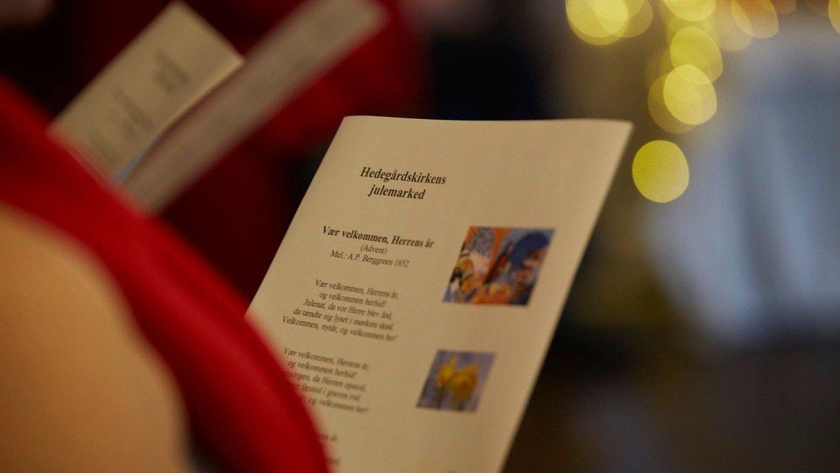 Julemarked i Hedegårdskirken