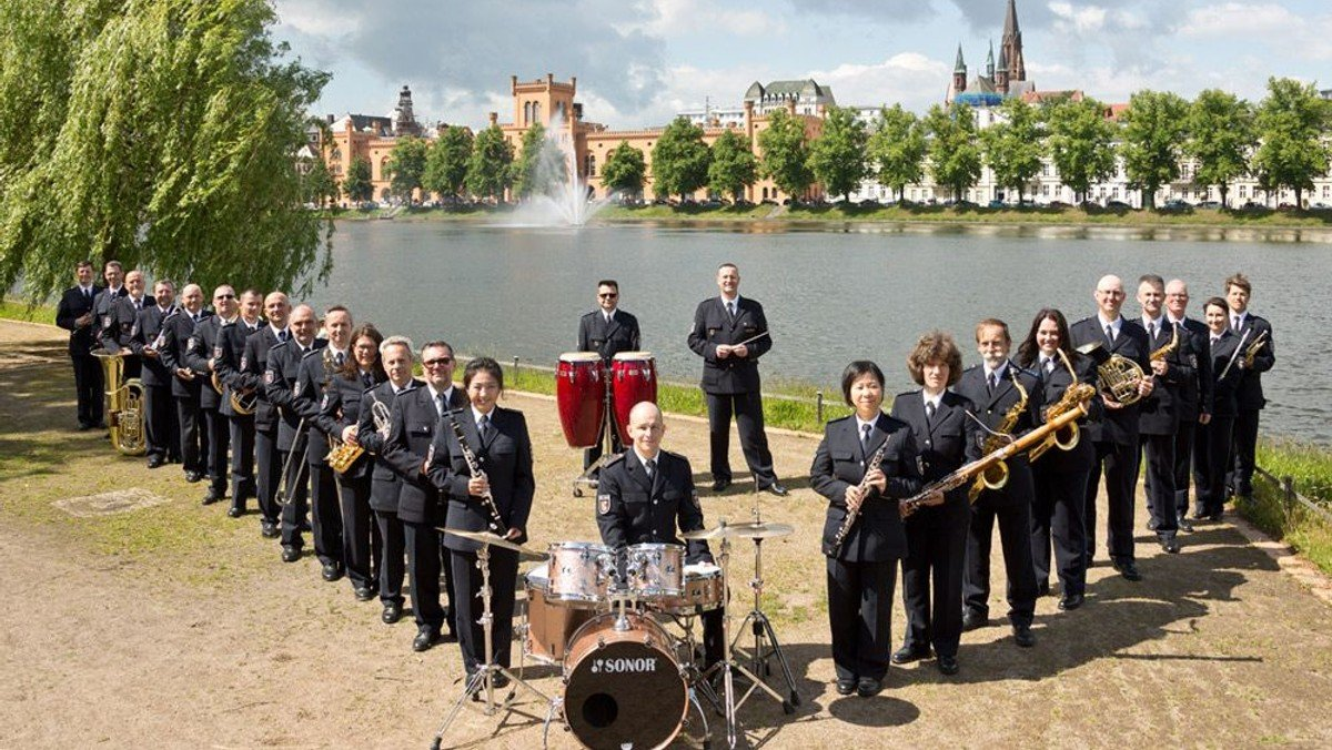 Benefizkonzert des Landespolizeiorchesters