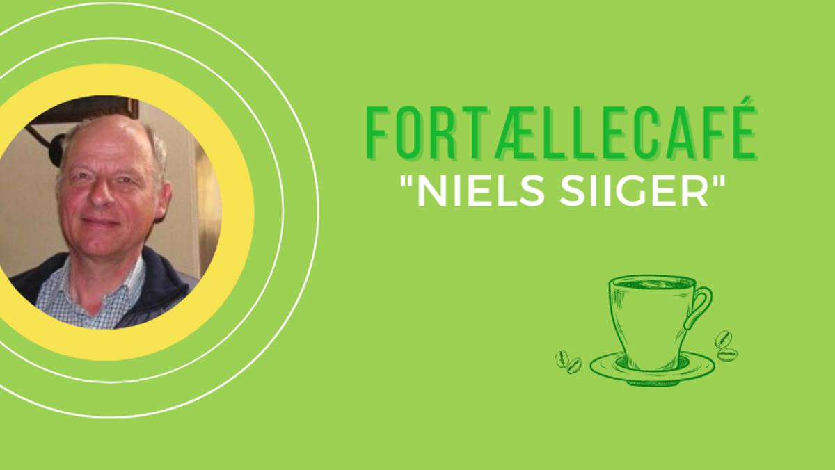 Fortællecafé med pensionist og sanger Niels Siiger