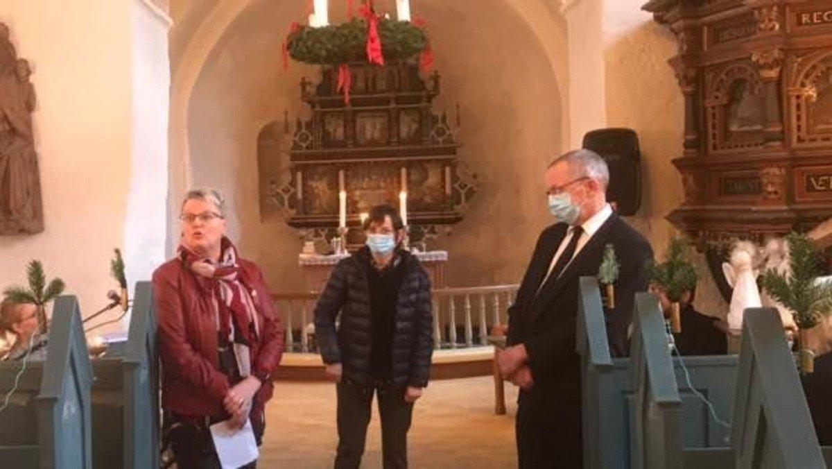 Organist og graver fejrer 25 års jubilæum