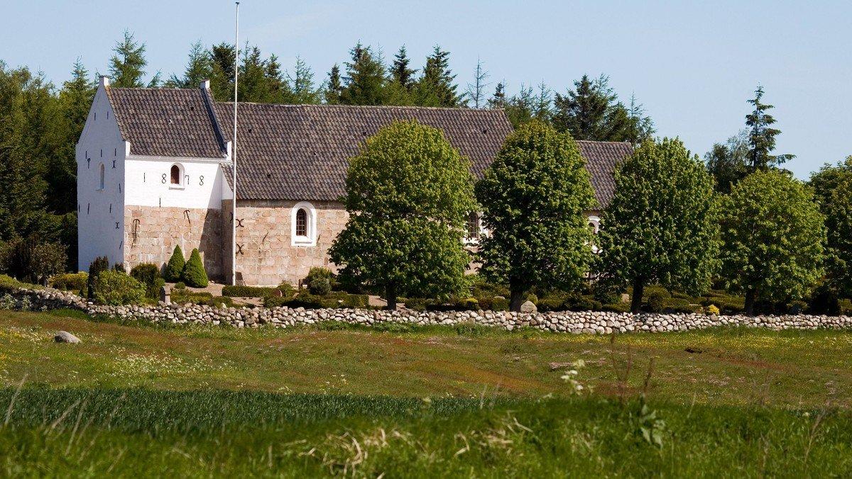 """Fælles """"9690"""" Gudstjeneste i Hjortdal Kirke"""