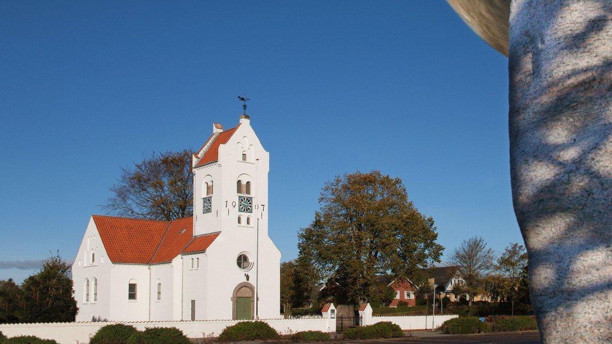Gudstjeneste i Fjerritslev Kirke