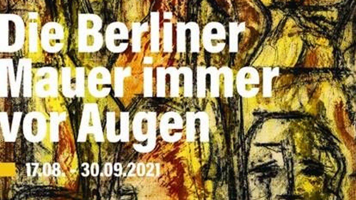 """""""Die Berliner Mauer immer vor Augen"""" Kunstwerke von Gino Kuhn"""