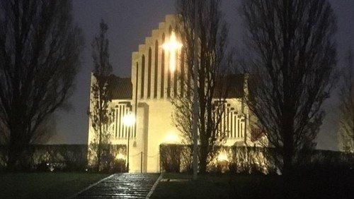 Juleaftensgudtjeneste v. Lars Astman Smedemark