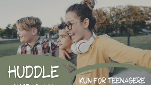 Huddle - et fællesskab for teenagere