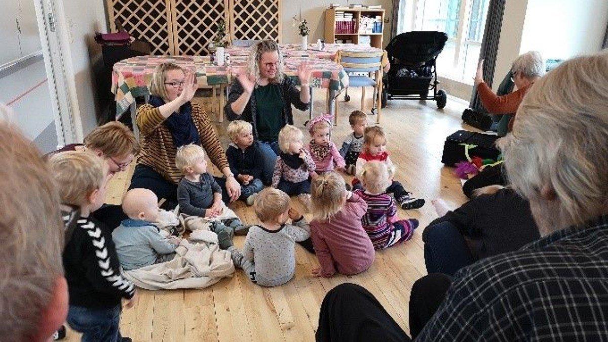 Stjernestunder for børn og ældre
