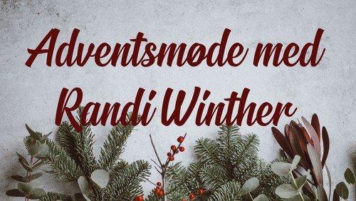 Adventsmøde med Randi Winther