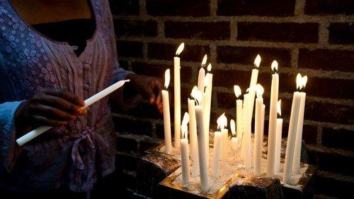 Gudstjeneste i Sct. Catharinæ Kirke - Alle Helgen