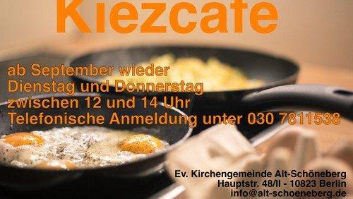 Kiezcafé - Mittagstisch