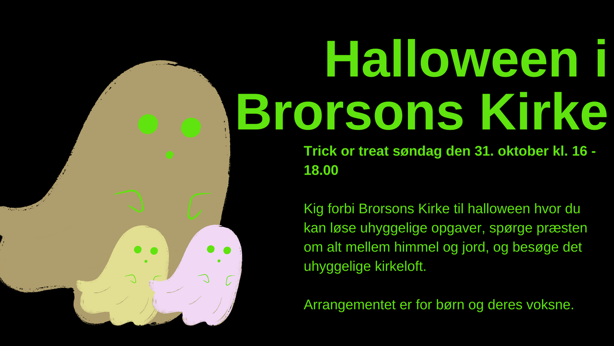 Halloween i Brorsons Kirke