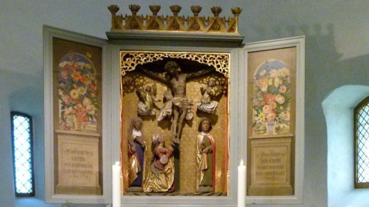 Gottesdienst in der Dorfkirche Großziethen