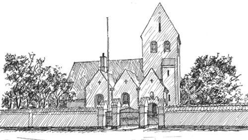 Gudstjeneste, Jegindø Kirke