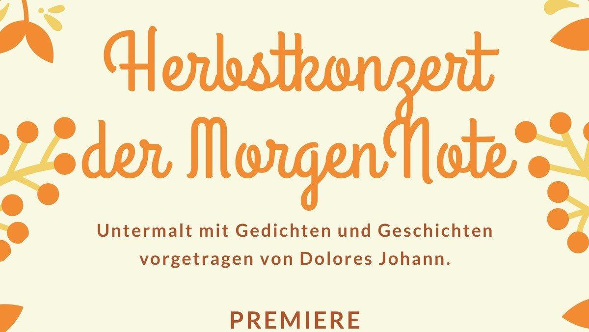 Herbstkonzert der MorgenNote – online-