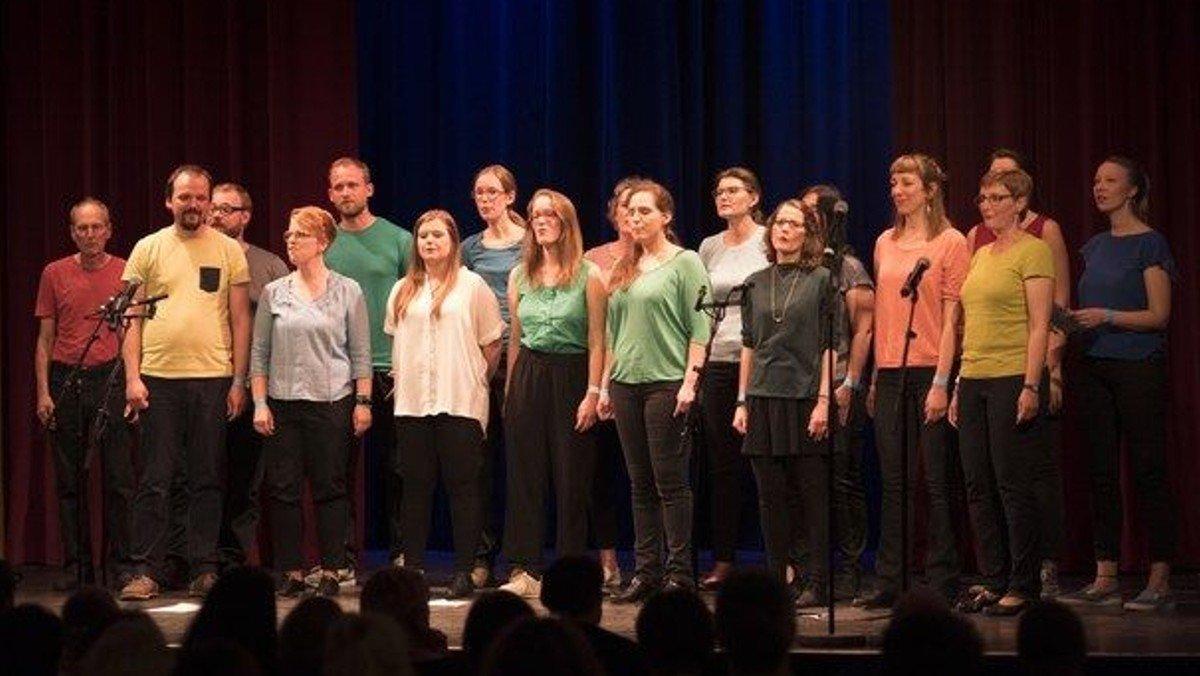 """Konzert mit dem Pop- und Jazzchor """"Gebrannte Mandeln"""""""