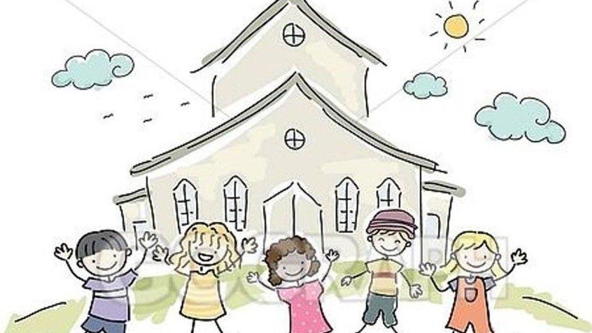 Gudstjeneste i Skivholme kirke for Minikonfirmander