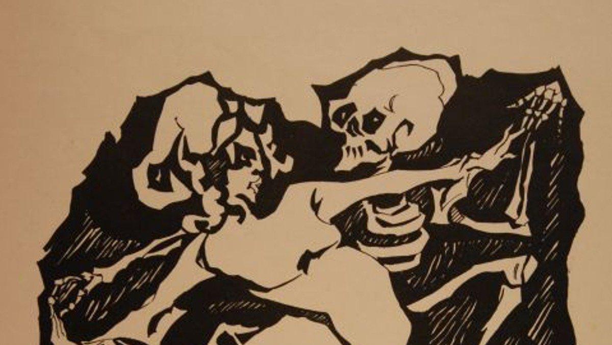 """Nachprogramm zum Europäischen Totentanzfestival: Öffentliche Führung zur Ausstellung """"todesmutig"""" - Grafiken der Moderne"""