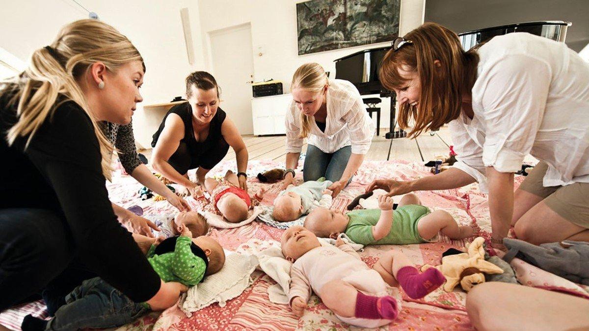 Babysalmesang - FORLØB I