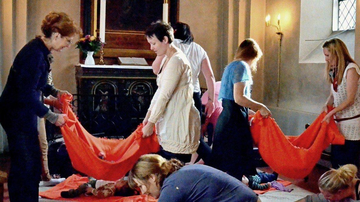 Aflyst Babysalmesang i kirken