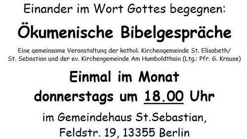 Ökumenische Bibelgespräche