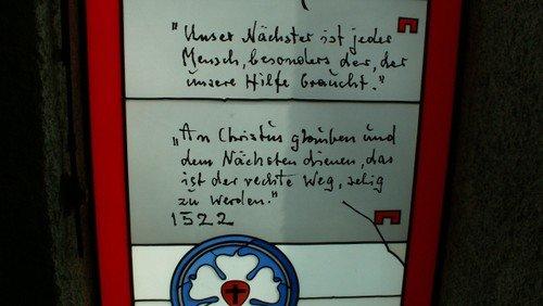 Gottesdienst Martin-Luther-Kirche, Familiengottesdienst mit Krippenspiel