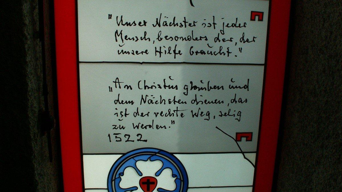 Gottesdienst Martin-Luther-Kirche, Verabschiedung Pfarrer Kunz