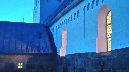 Overnatning i Aal kirke