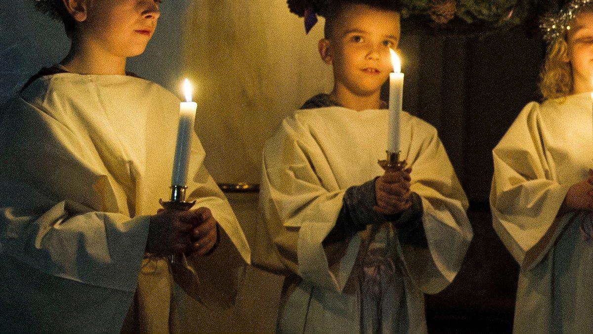 Gudstjeneste med Luciaoptog - 1. søn. i advent