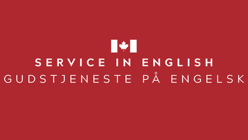 Sunday Service - in English