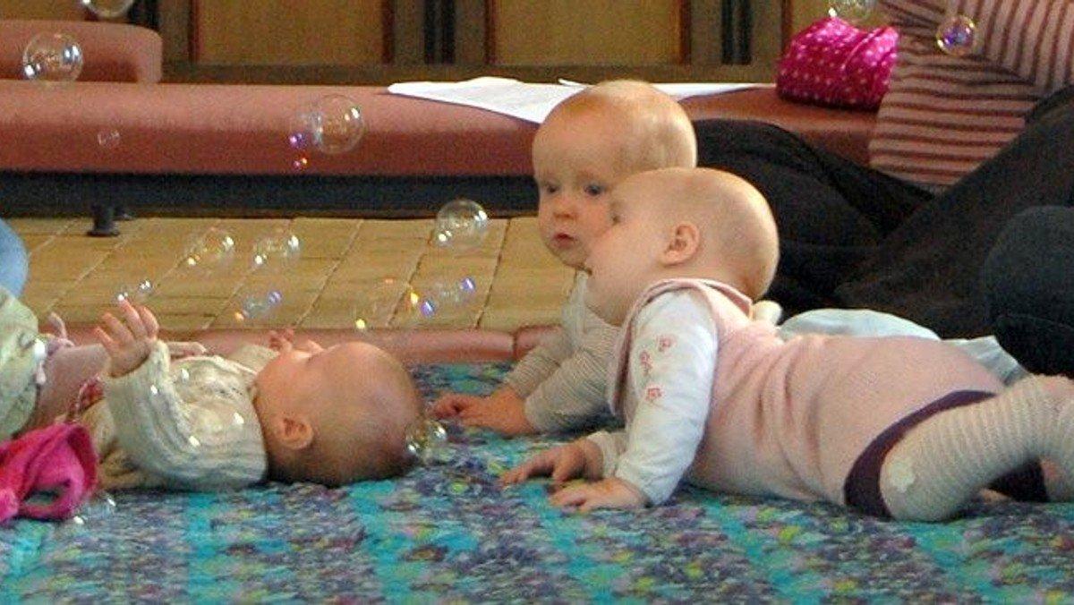 Babysalmesang  09.30 og 10.30