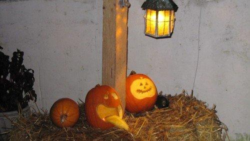 Halloween i Visborg kirke for konfirmanderne