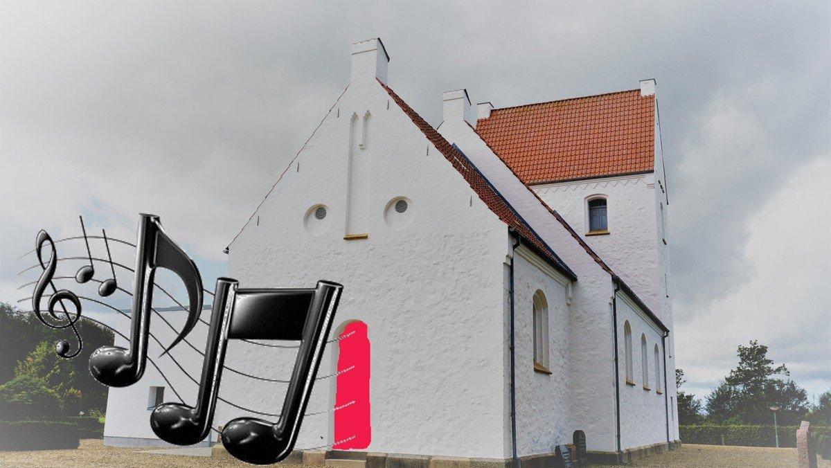 Kirkekor Nøvling øver