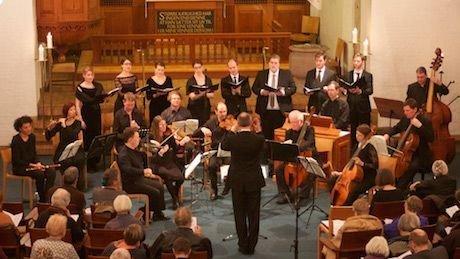 Kirkekoret deltager i koncert