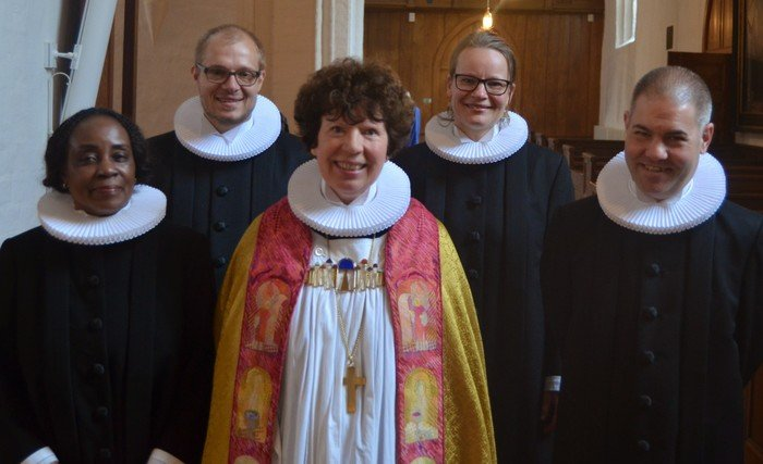 Mercy Anofua Bedu-Addo blev ordineret i Helsigør Domkirke den 26. april 2015