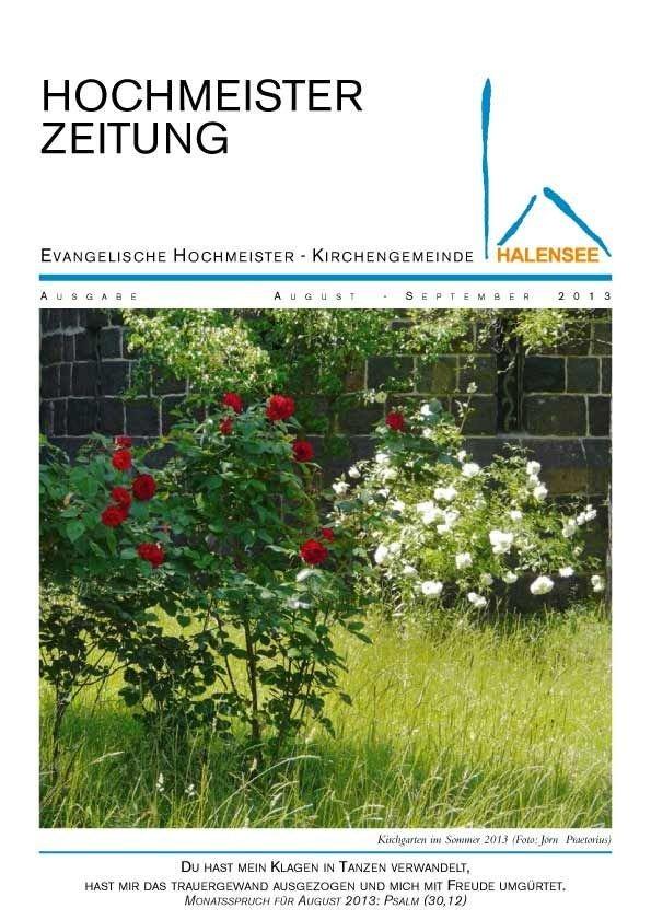 Hochmeisterzeitung 08 2013